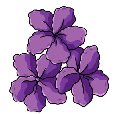 Purple flowers clip art picture transparent Purple Flower Border Clip Art | Clipart Panda - Free Clipart Images picture transparent