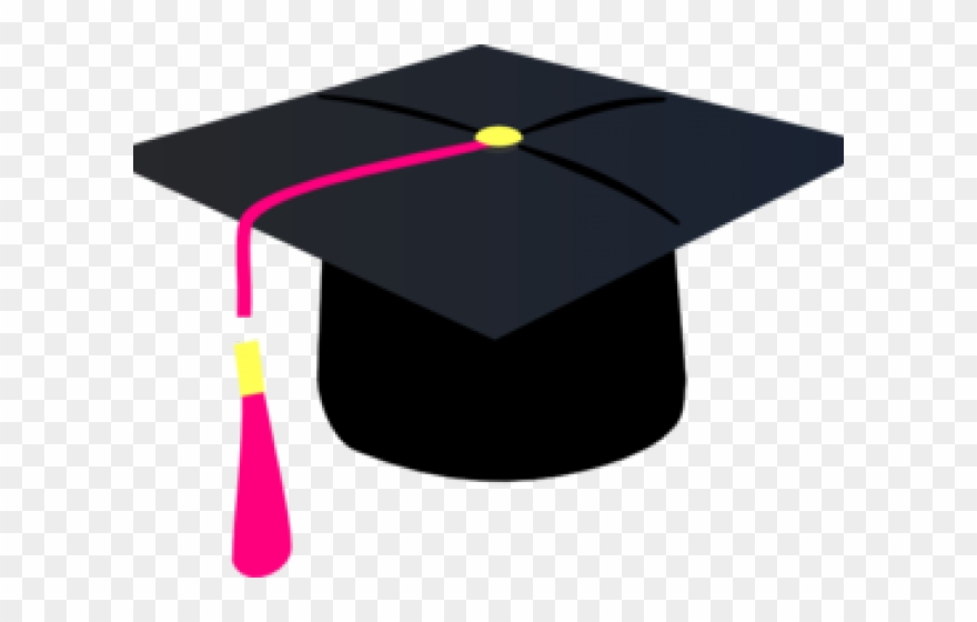 Cap and tassel clipart png library Graduation Clipart Pink - Graduation Cap With Purple Tassel ... png library