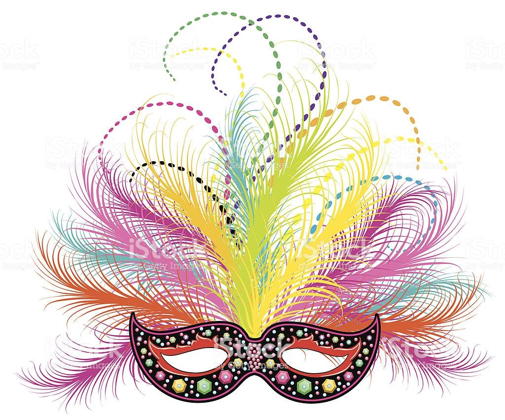 Purple green and gold mardi gras mask clipart clipart free stock Purple, green, and gold ornate Mardi Gras feathered mask and ... clipart free stock