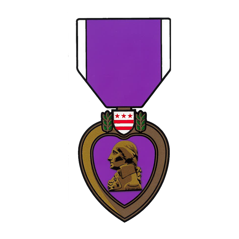 Purple heart medal clipart graphic freeuse download Purple Heart Decal | The Marine Shop graphic freeuse download