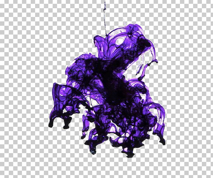 Purple ink clipart png royalty free Purple Photography Ink Smoke PNG, Clipart, Color, Color ... png royalty free