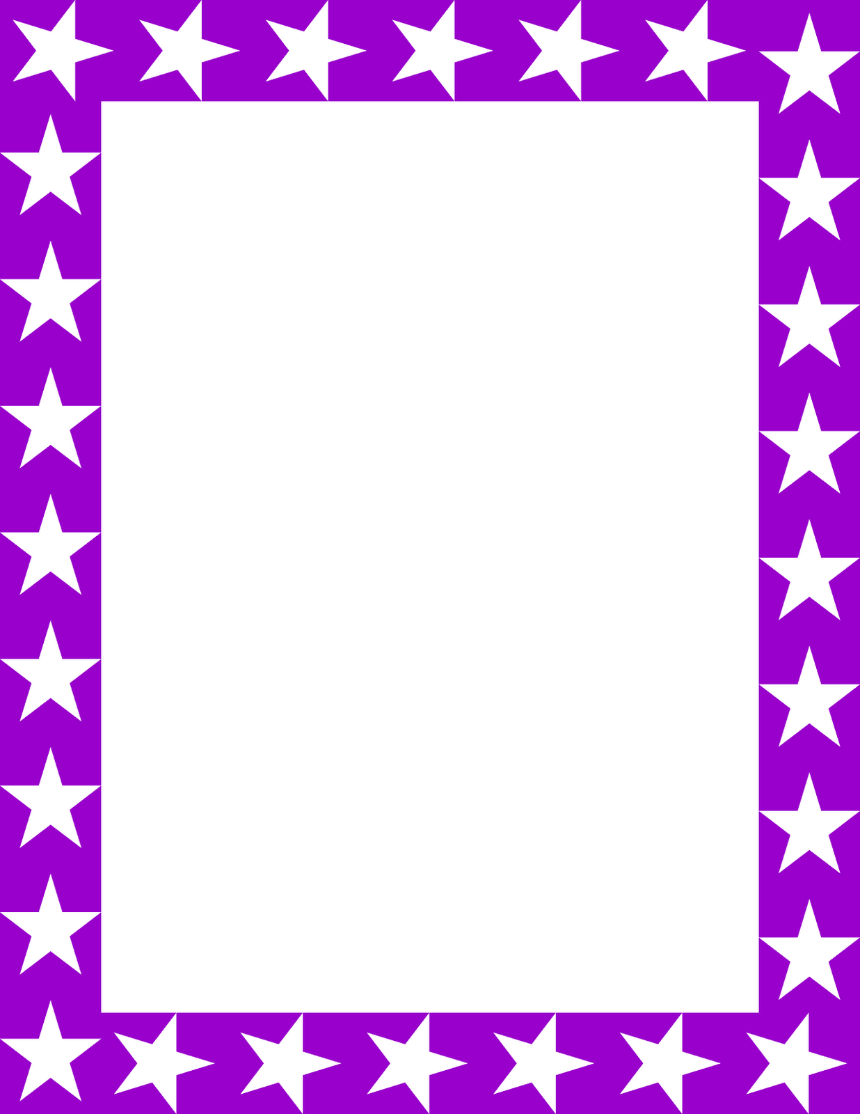 Purple picture frame clipart