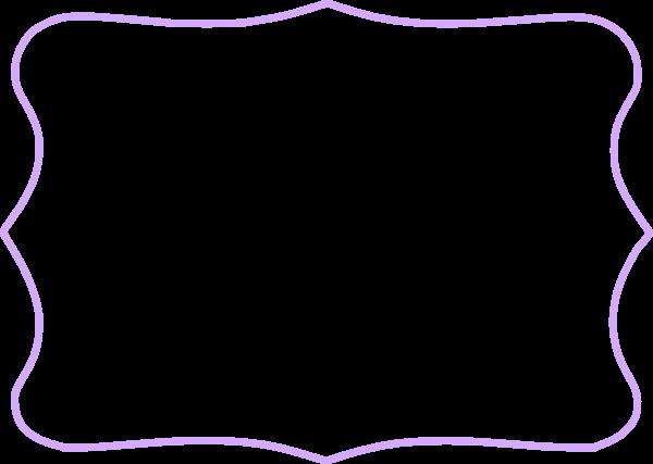 Purple picture frame clipart image transparent download Lavender Frame Cliparts - Cliparts Zone image transparent download