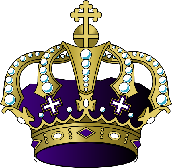 Purple princess crown clipart banner library library Purple Crown Clip Art at Clker.com - vector clip art online, royalty ... banner library library