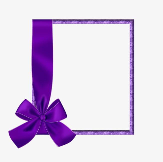 Purple ribbon border clipart clipart library download Purple Ribbon Border PNG, Clipart, Border Clipart, Bow ... clipart library download