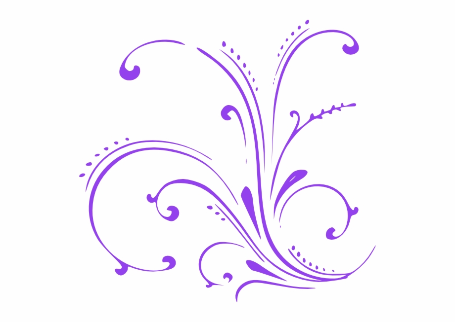 Purple scroll clipart png download Small - Purple Scroll Clip Art Free PNG Images & Clipart ... png download