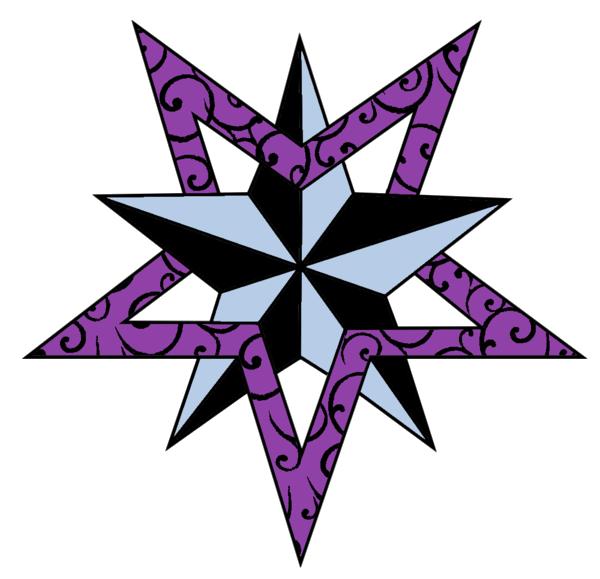 Star tattoo clipart