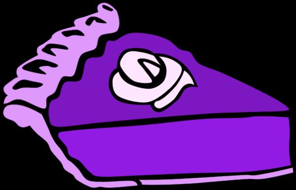 Purple slice cake art clipart image freeuse stock Purple slice cake art clipart - ClipartFest image freeuse stock