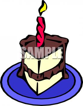 Purple slice cake art clipart clip transparent stock Clip Art Picture Of A Slice Of Vanilla Cake With Chocolate Icing ... clip transparent stock