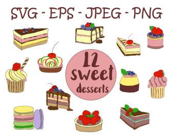 Purple slice cake art clipart picture library stock Slice clip art – Etsy picture library stock
