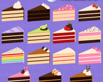 Purple slice cake art clipart jpg freeuse Purple slice cake art clipart - ClipartFest jpg freeuse
