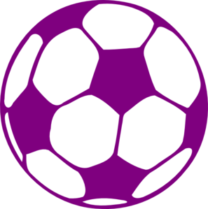 Purple soccer ball clipart vector black and white download Purple Soccer Ball Clip Art at Clker.com - vector clip art ... vector black and white download