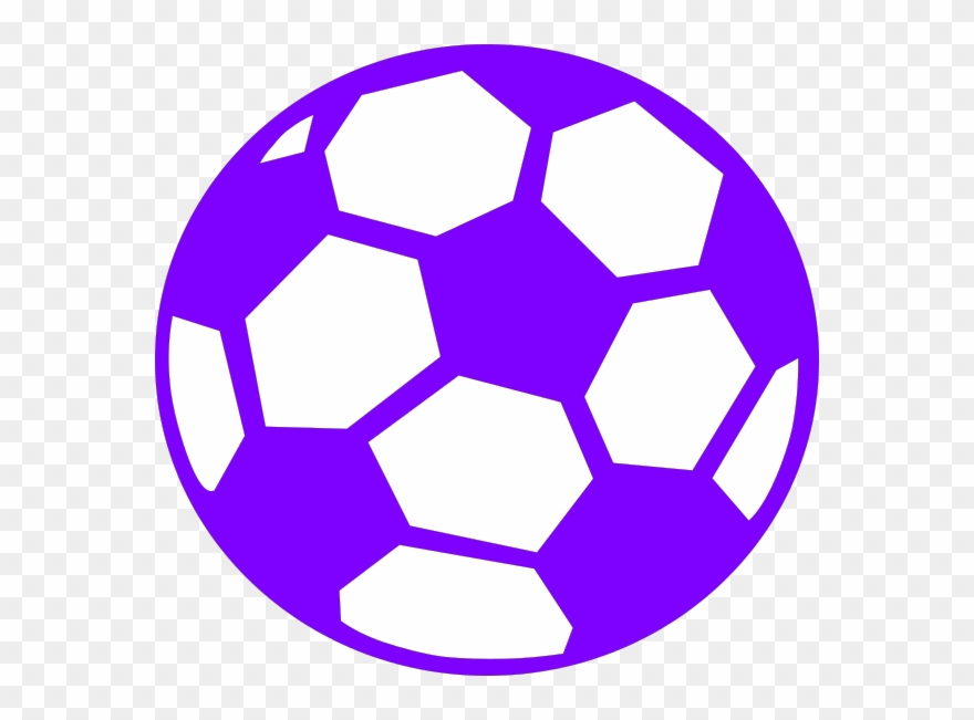 Purple soccer ball clipart png royalty free download Soccer Ball Clip Art Svg - Png Download (#1917779) - PinClipart png royalty free download