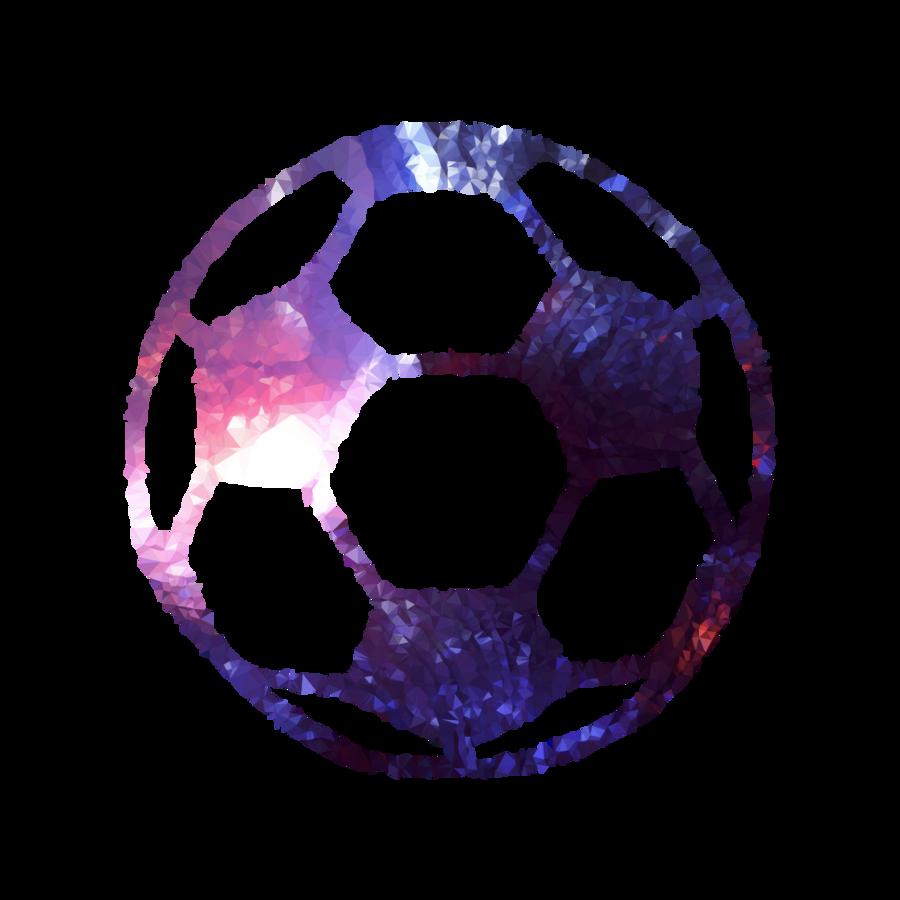 Purple soccer ball clipart vector transparent Football Background clipart - Football, Ball, Purple ... vector transparent