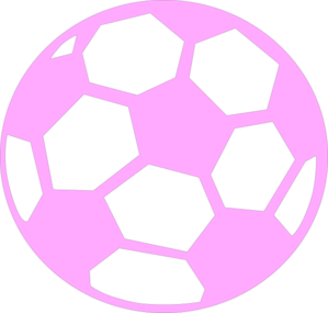 Purple soccer ball clipart clipart black and white library Pink Soccer Ball Clip Art at Clker.com - vector clip art ... clipart black and white library