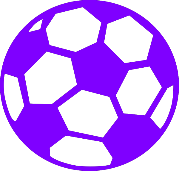 Purple soccer ball clipart clip freeuse stock Purple Soccer Ball Clip Art at Clker.com - vector clip art ... clip freeuse stock