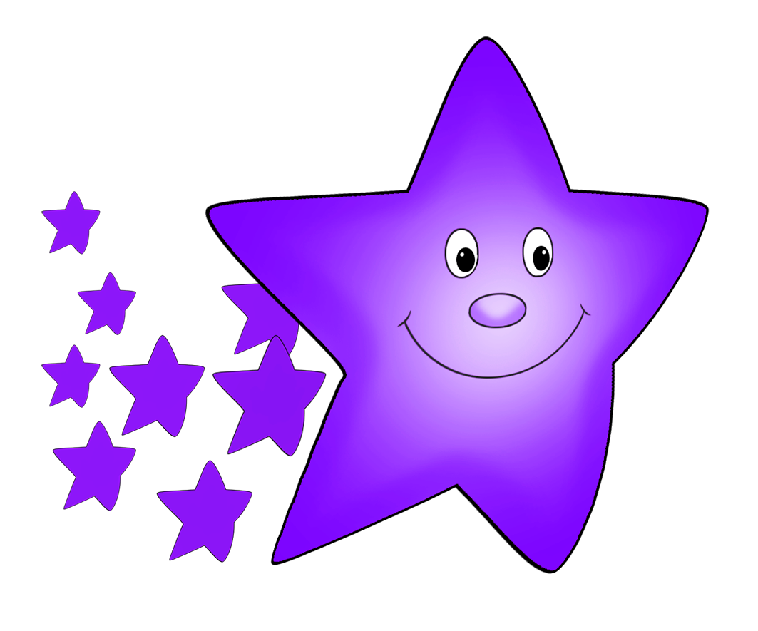 Purple stars clipart clipart free library Star Clipart clipart free library