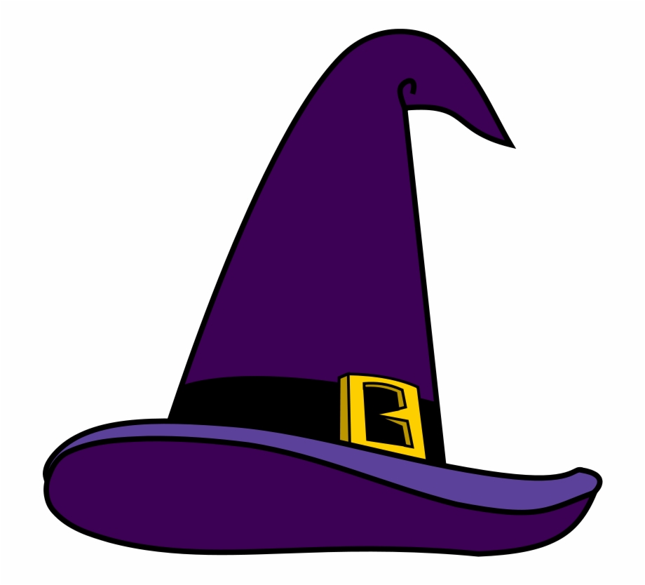 Witch hat clipart cat picture library Purple Witch Hat Png Picture - Witch Hat Clipart Free PNG ... picture library