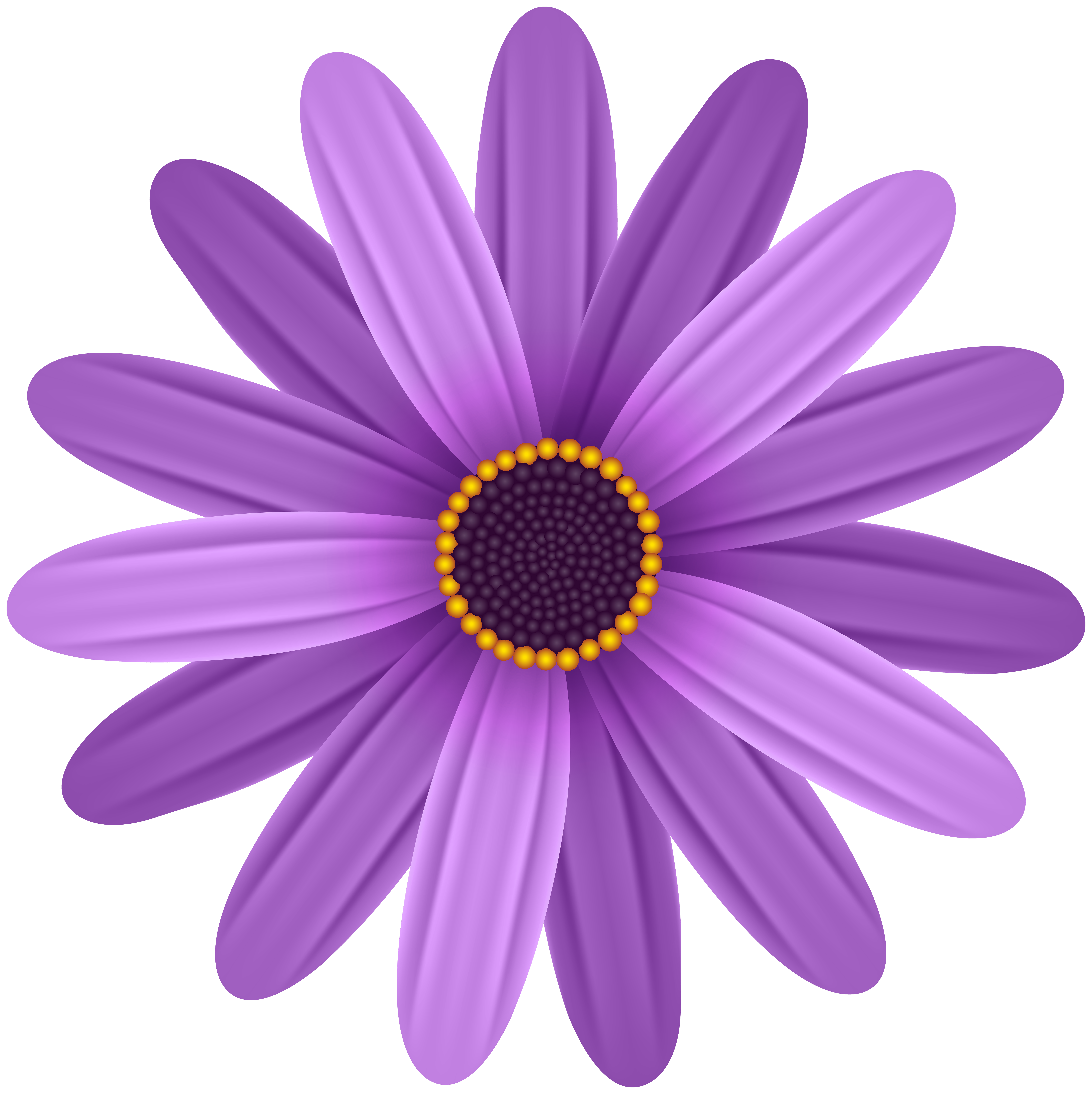 Purpleflowers clipart png free stock Purple Flower Transparent PNG Clip Art Image | Gallery ... png free stock
