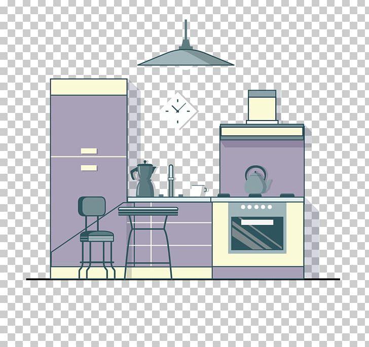 Purplekitchen clipart png free download Refrigerator Kitchen Living Room Bedroom Exhaust Hood PNG ... png free download