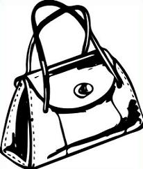 Purse pictures clipart vector black and white Free Purse Clipart vector black and white