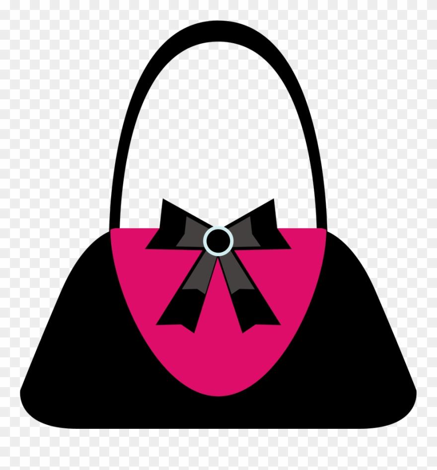 Purse silhouette clipart vector free Say Hello - Silhouette Prom Purse Clipart - Png Download ... vector free