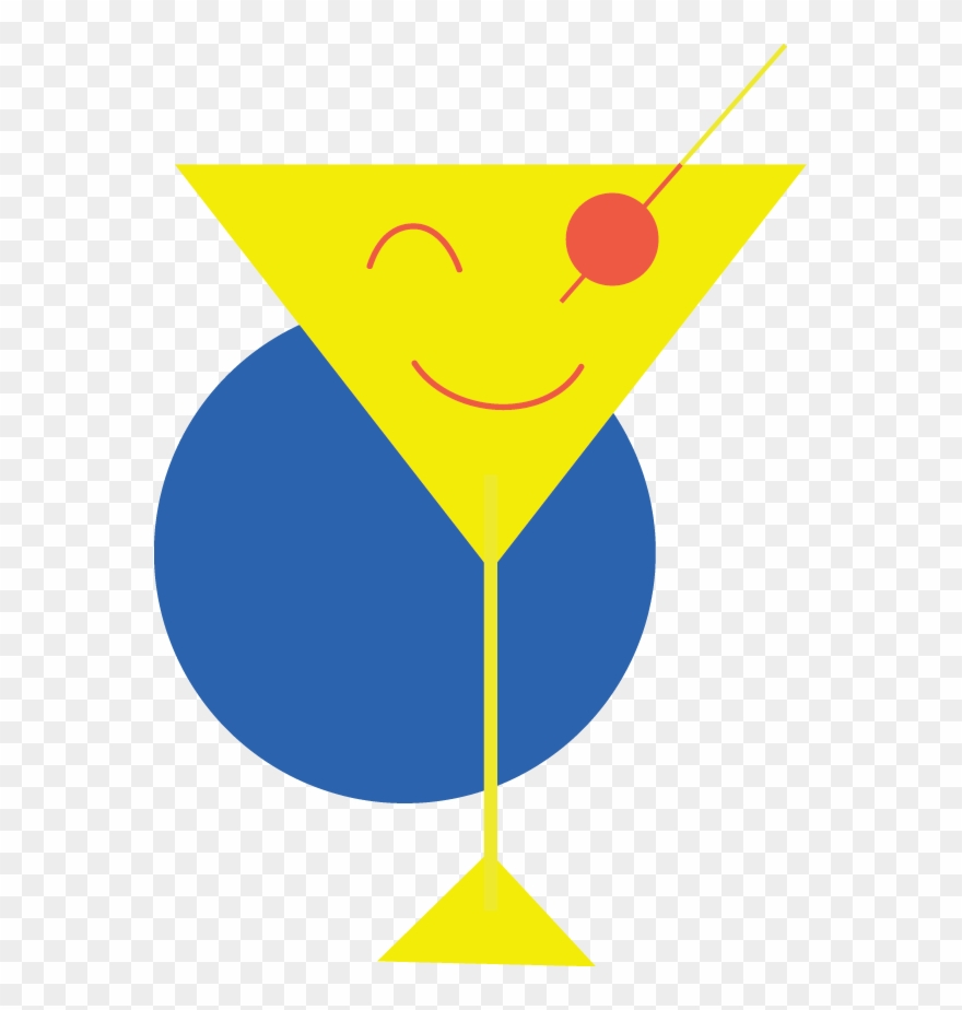 Pursuit of happiness clipart vector Pursuit Of Happy Hour Logo - Martini Fridays Clipart ... vector