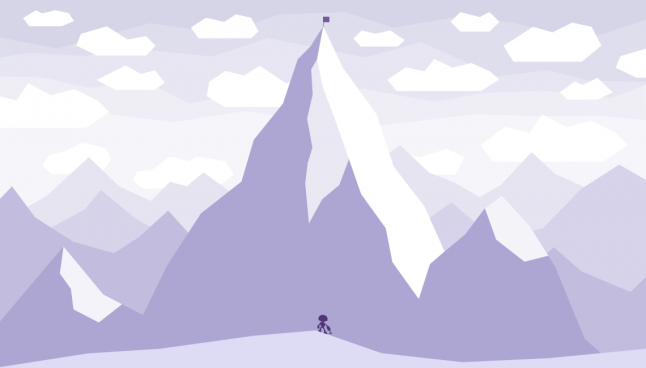 Push a rock up a hill alone clipart teamwork svg royalty free stock Gamasutra: Ed Kay\'s Blog - Climbing an impossible mountain ... svg royalty free stock