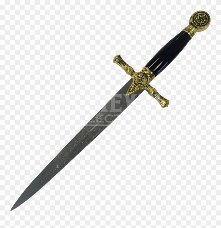 Push dagger clipart free Transparent Dagger Masonic - Dagger Clipart (#3264455 ... free