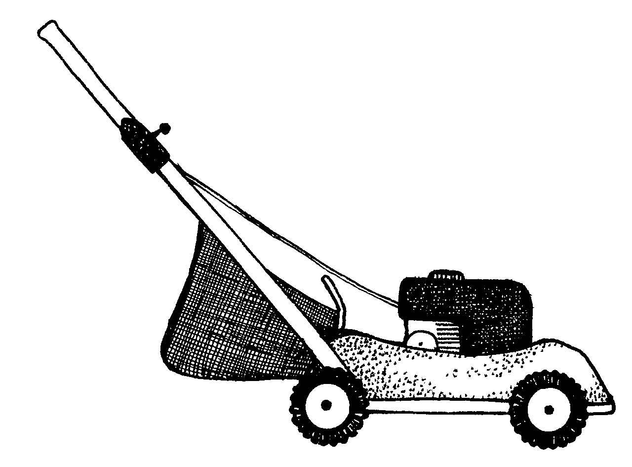 Push mower clipart graphic library download Lawn mower lawnmower 1 jenny smith cliparts - Clipartix graphic library download