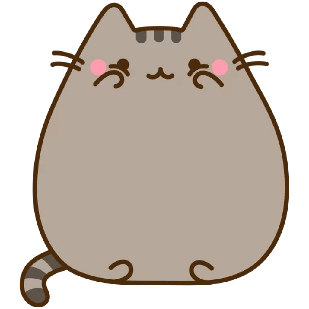Pusheen cat clipart svg library stock pusheen cat kitty cute tumblr - Sticker by KEYAMAX99 svg library stock