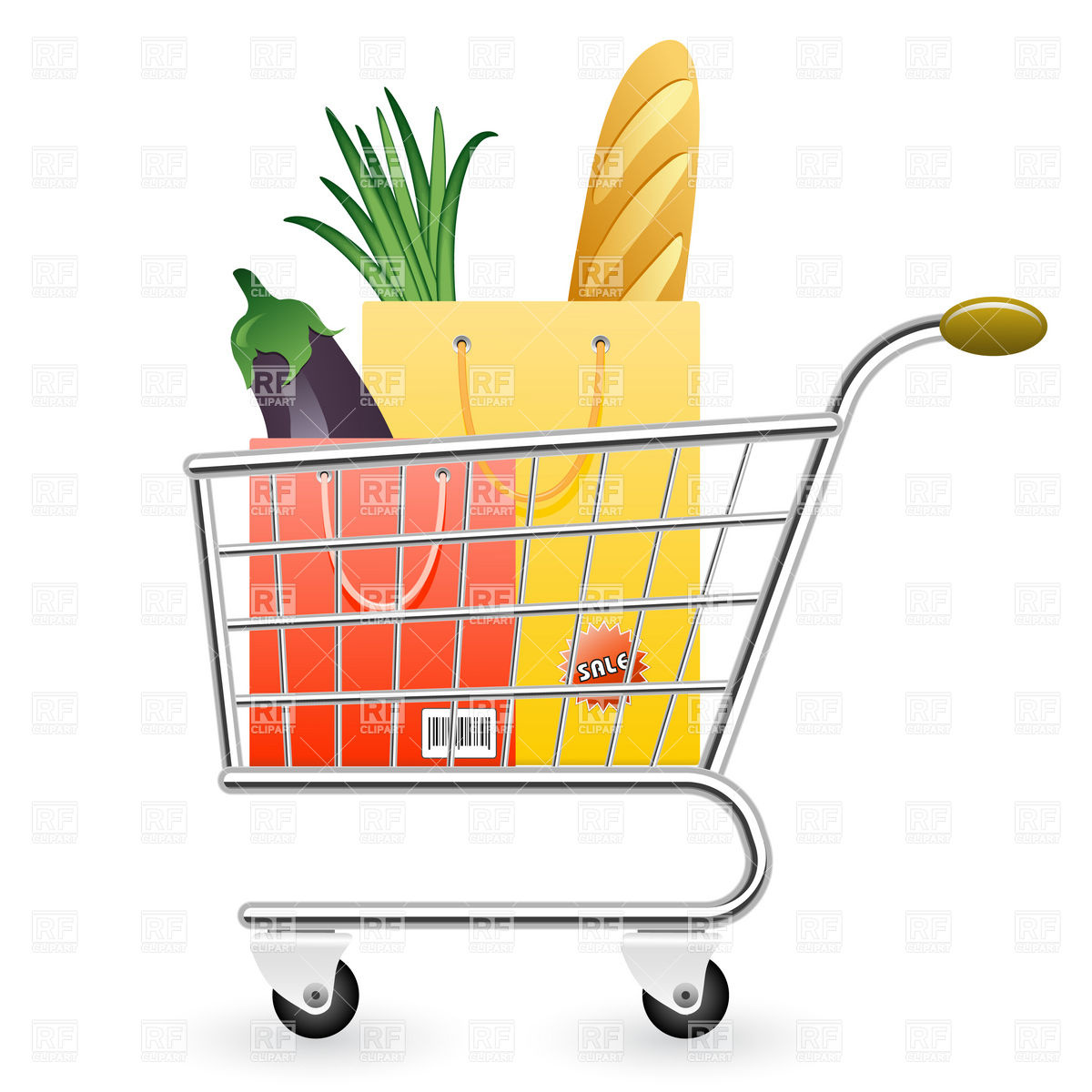 Pushing a full and empty shopping cart clipart graphic transparent Shopping Cart Clipart | Free download best Shopping Cart ... graphic transparent