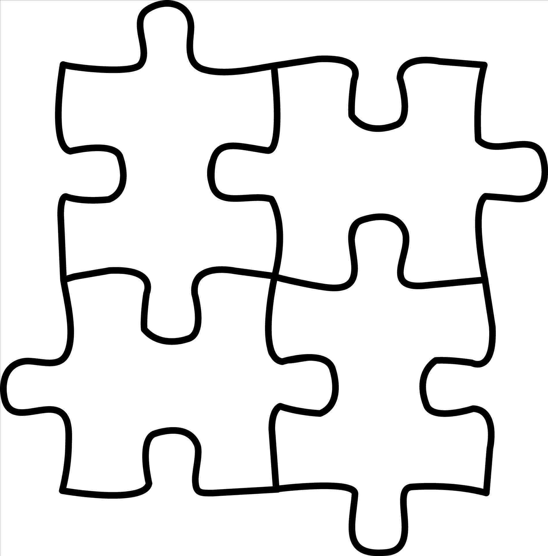 Puzzle clipart black svg freeuse stock Puzzle clipart black and white 1 » Clipart Station svg freeuse stock