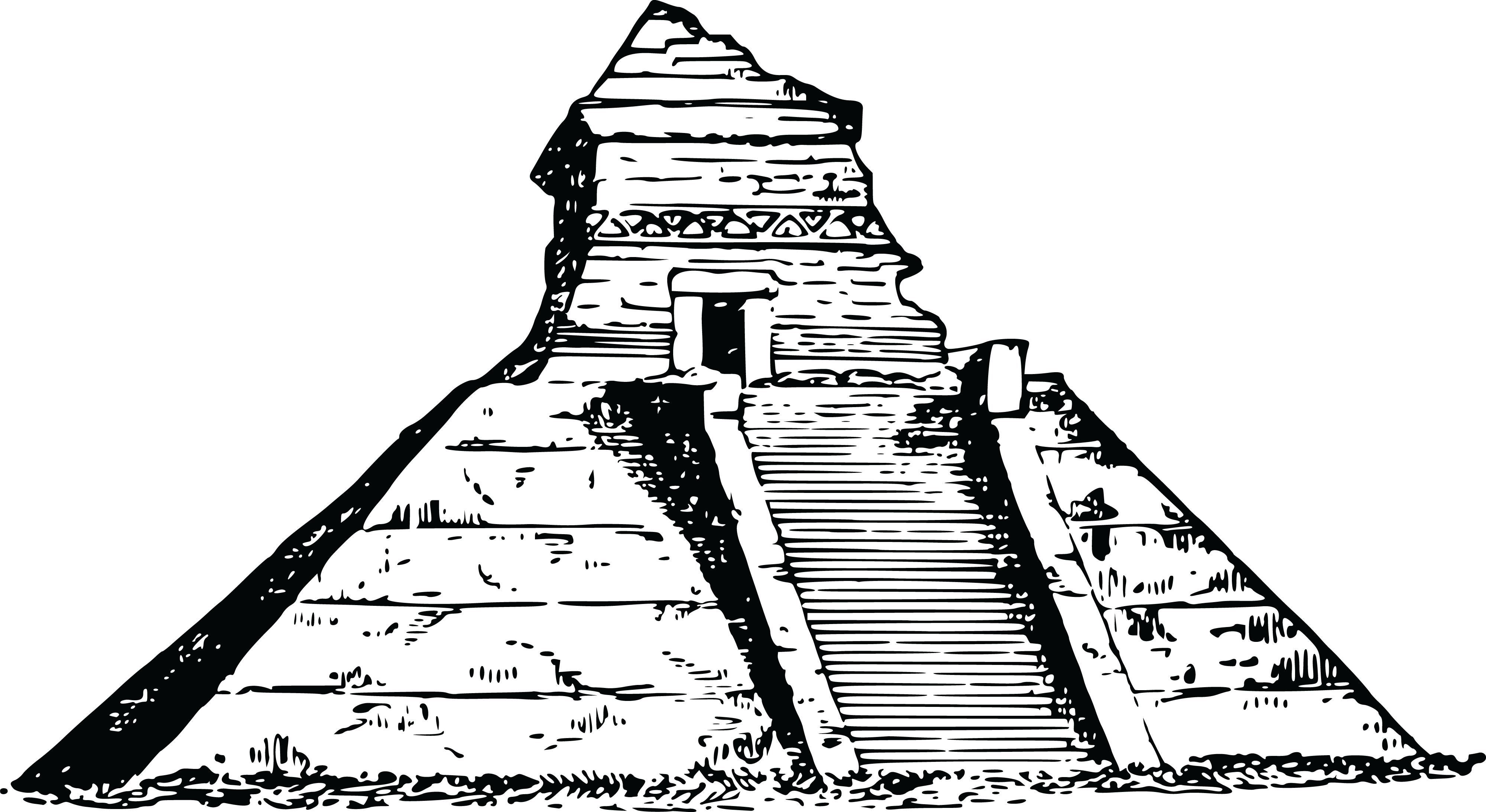Pyramid of the sun clipart svg stock 28+ Collection of Pyramid Clipart Free | High quality, free cliparts ... svg stock