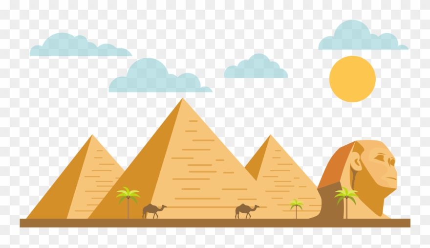 Pyramids clipart picture library stock Sphynx Clipart Pyramids - Png Download (#3021037) - PinClipart picture library stock