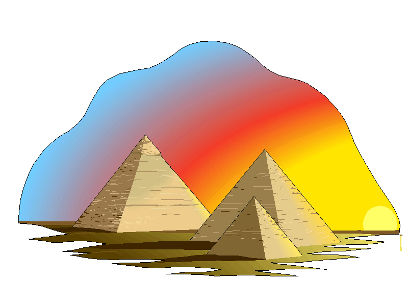 Pyramids clipart vector freeuse stock 92+ Pyramids Clipart   ClipartLook vector freeuse stock