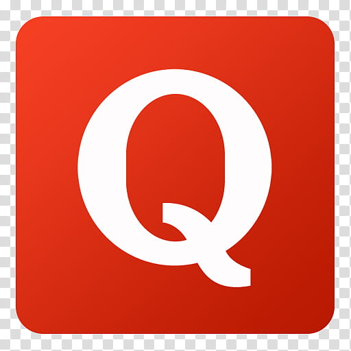Q logo clipart jpg free library Flat Gradient Social Media Icons, Quora, red and white Q ... jpg free library