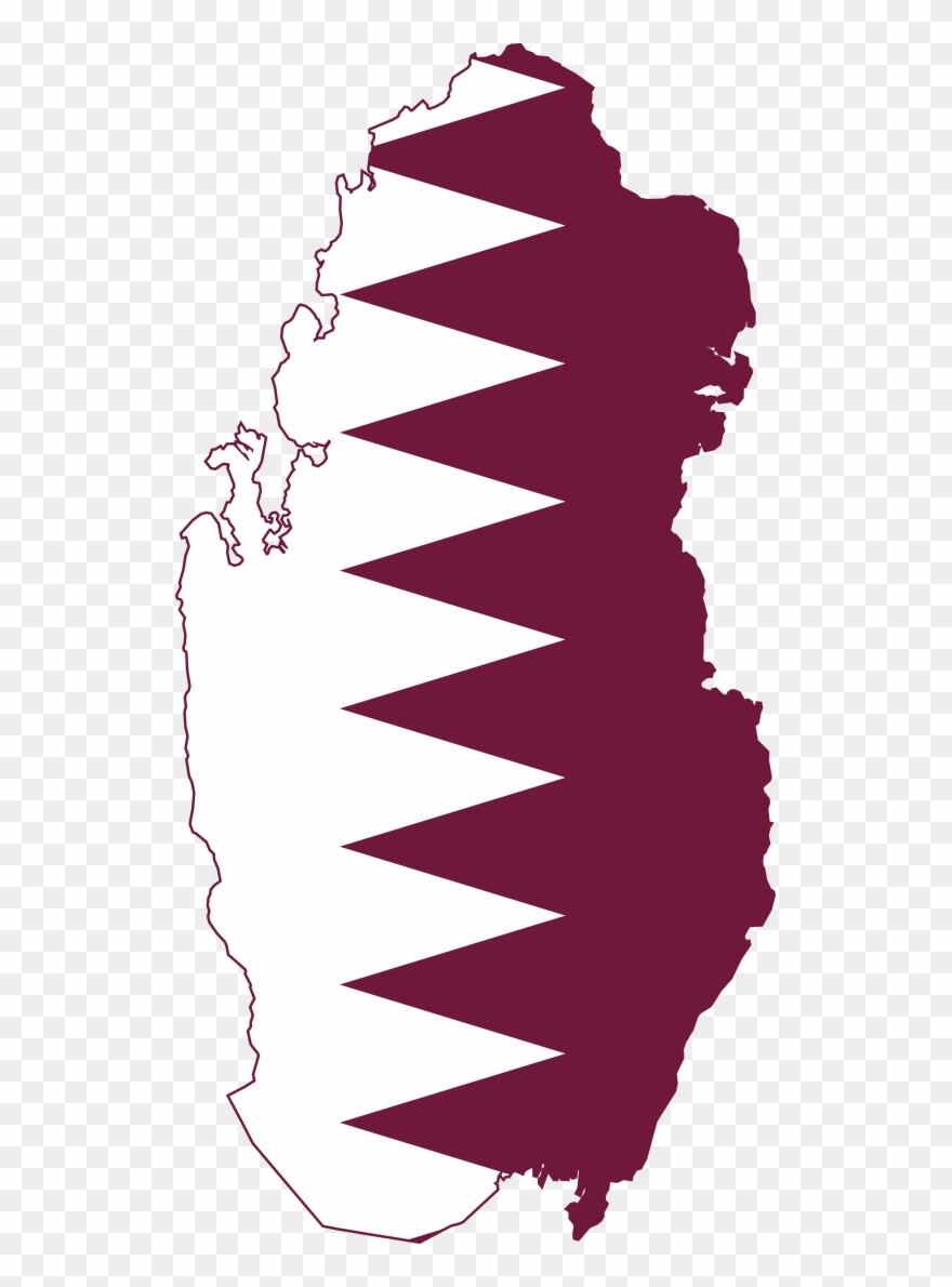 Qatar clipart clipart stock Antarctica Clipart - Qatar Flag Map - Png Download (#182032 ... clipart stock