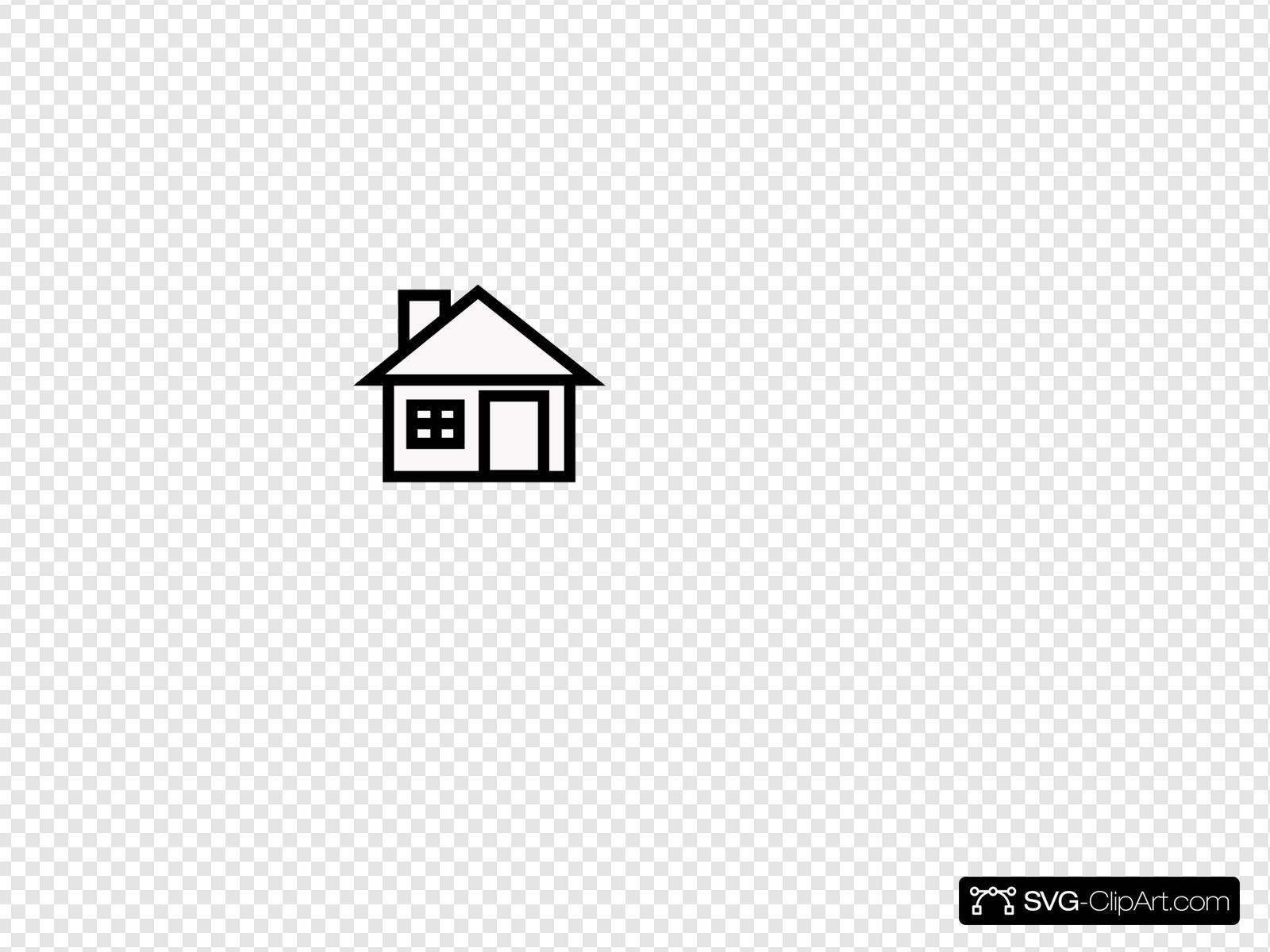 Qhs clipart clip art freeuse House Clip art, Icon and SVG - SVG Clipart clip art freeuse