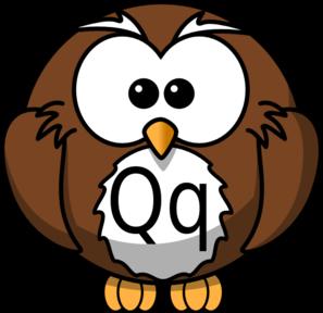 Qq clipart clip freeuse library Qq Owl Clip Art at Clker.com - vector clip art online ... clip freeuse library