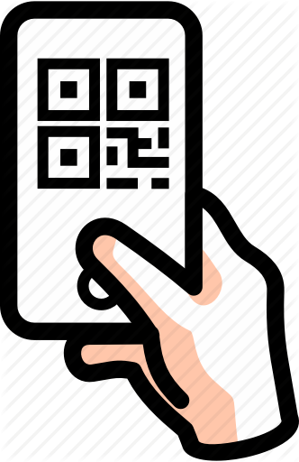 Qr code clipart icon vector royalty free download \'Mobile Phone Conveniences\' by innograpica vector royalty free download
