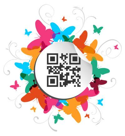 Qr code logo clipart clipart freeuse download Create Designer QR Codes with Logo | qrd°by clipart freeuse download
