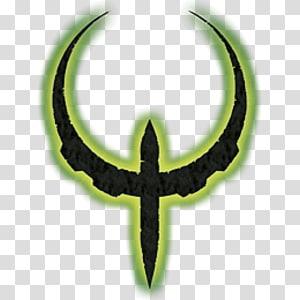 Quake 3 arena clipart banner black and white Quake 4 Quake III Arena Doom 3, bird illustration ... banner black and white