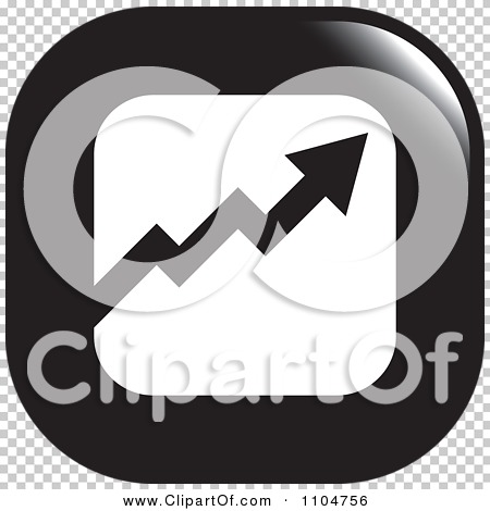Quarter arrow black clipart png stock Clipart Black And White Business Statistics Chart Arrow Graph Icon ... png stock