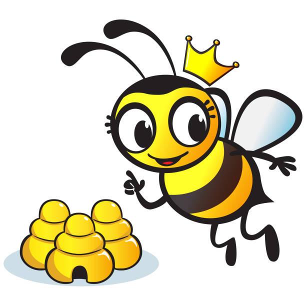 Queen bee cartoon clipart clip art transparent library Top Queen Bee Clip Art Vector Graphics And Illustrations ... clip art transparent library