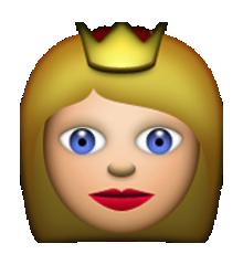 Queen emoji clipart banner royalty free library Ios Emoji Princess banner royalty free library
