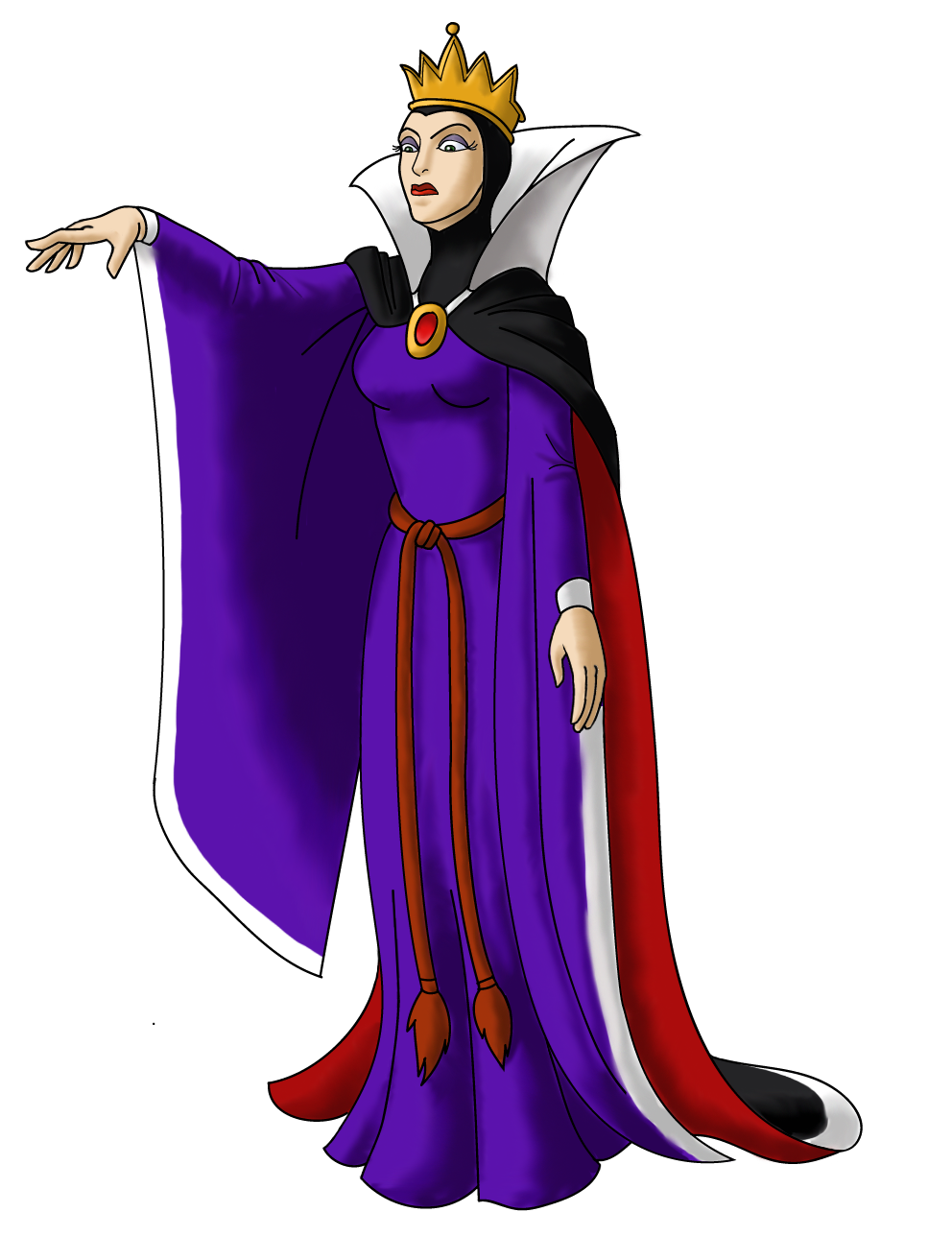 Queen guimhilde ugly disney characters clipart clipart free Disney Villain October 20: Queen Grimhilde by PowerOptix on ... clipart free