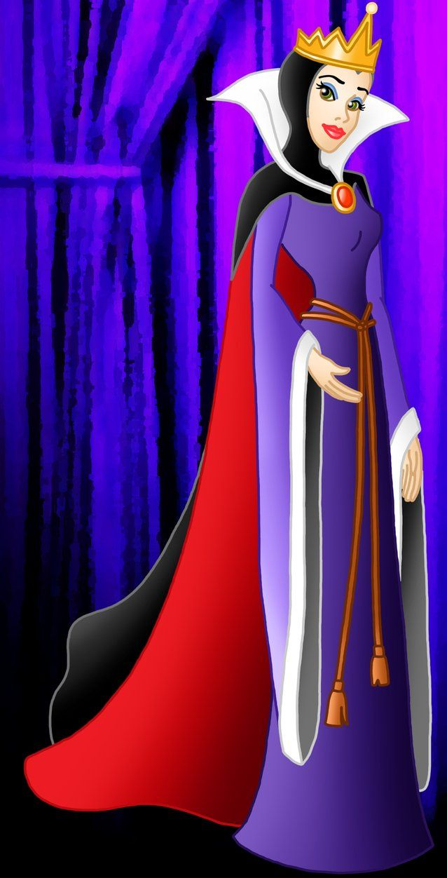 Queen guimhilde ugly disney characters clipart image royalty free stock Pretty villains: Queen Grimhilde by Willemijn1991 on ... image royalty free stock