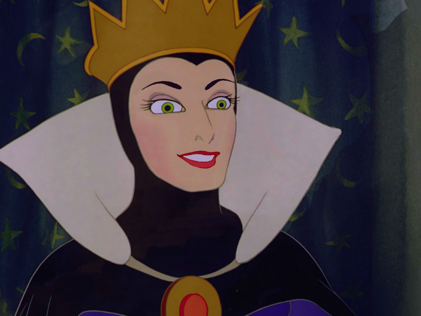 Queen guimhilde ugly disney characters clipart banner library library queen Grimhilde/The Evil queen with a friendly smile ... banner library library