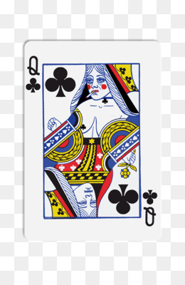 Queen of clubs playing card clipart istock banner library download Free download Queen of clubs Playing card Stock photography ... banner library download